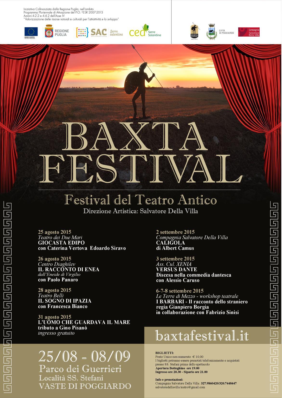 MANIFESTO BAXTA
