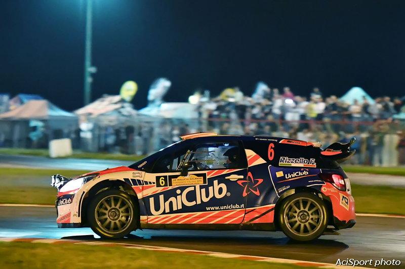 Francesco Rizzello, Monica Cicognini (Citroen DS3 WRC #6, Salentomotori)