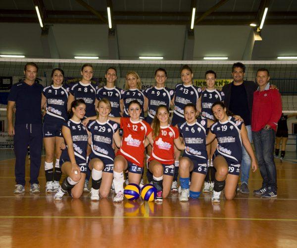 Squadra femminile del Volley Tricase